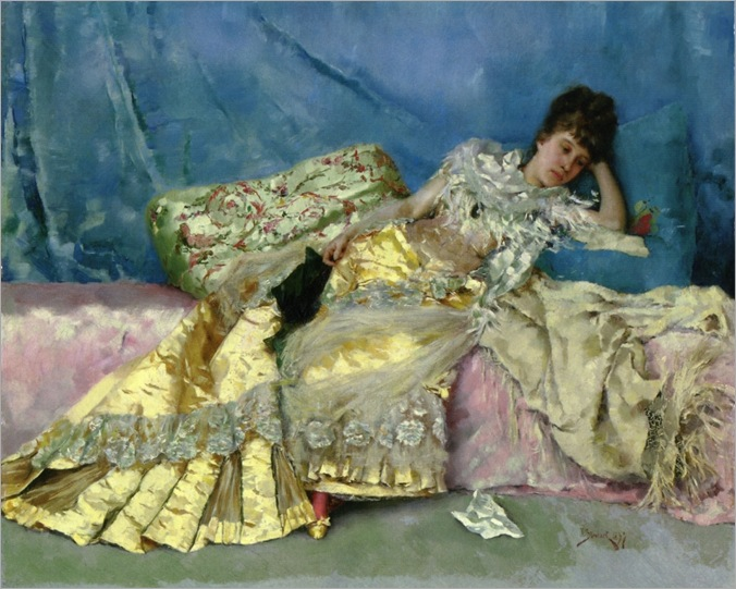 Julius_LeBlanc_Stewart_-_Lady_On_A_Pink_Divan