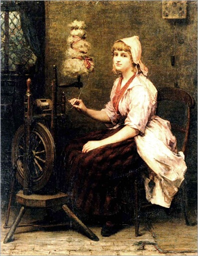 KatherineD.M.Bywater-the_girl_at_the_spinning_wheel