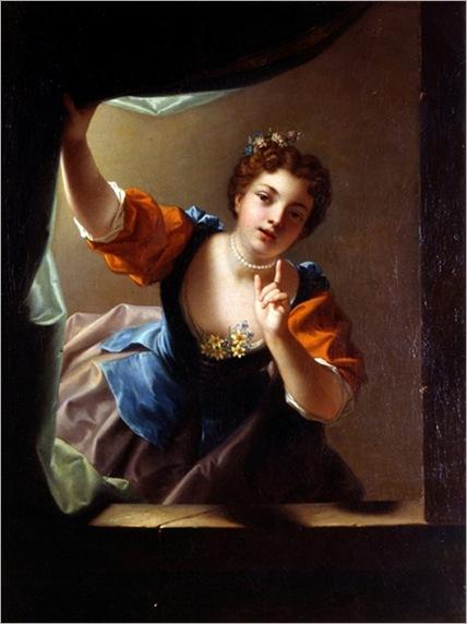 l´indiscrete - Jean Raoux - 1728