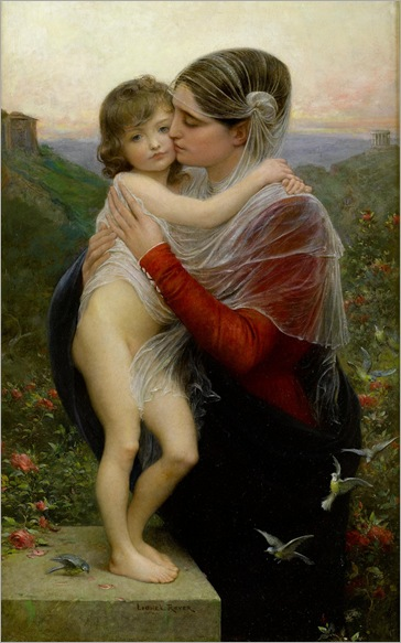 Lionel-Noël Royer - Mother and Child