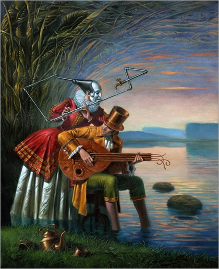 Loquacious Blues - Michael Cheval