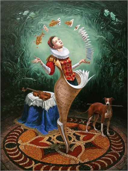 Magica Lesson by Michael Cheval
