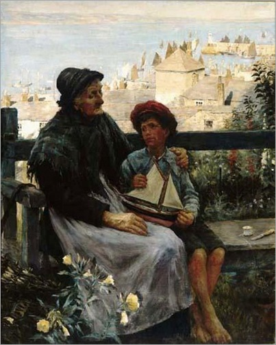 Stanhope Alexander Forbes-song-of-the-sea
