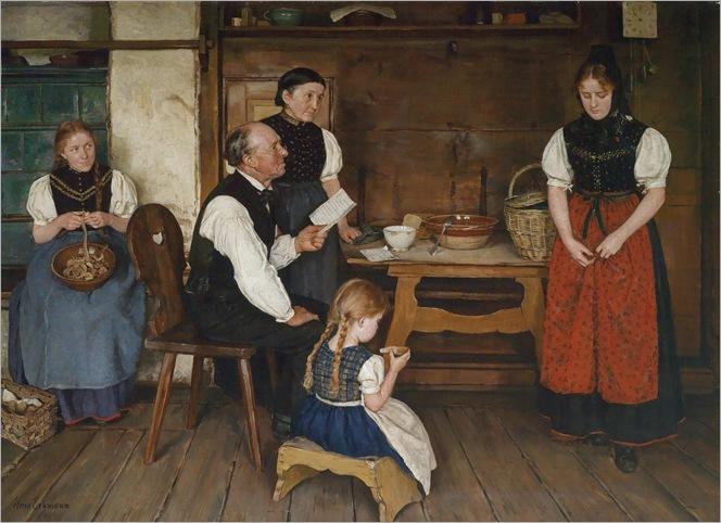 The Letter - Alma Erdmann (german painter)