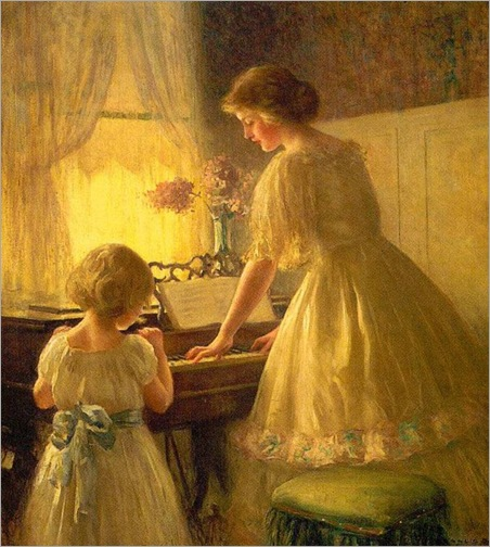 The Piano Lesson (1895). Francis Day