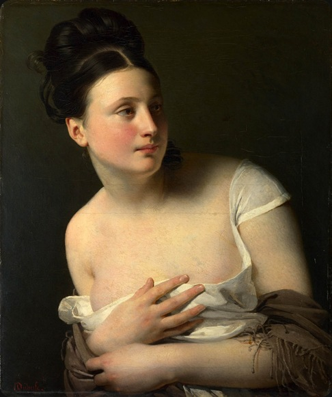 The Surprise (before 1827). Claude-Marie Dubufe (French, 1790-1864)