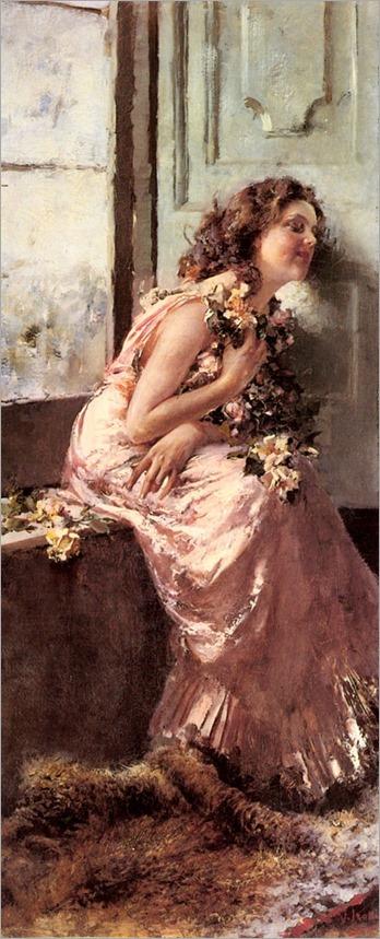 Vincenzo Irolli (Italian,1860-1942) Rêverie