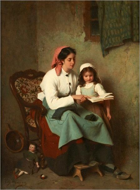 2.Charles Moreau (French, 1830-1891)