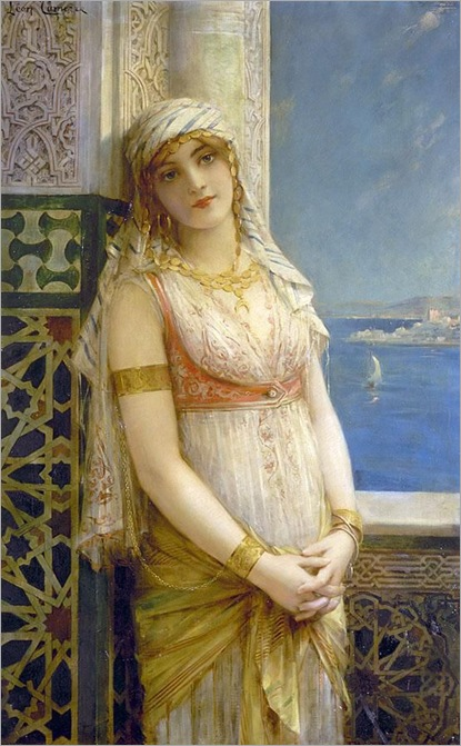 An Eastern Beauty - Leon Francois Comerre(french painter)
