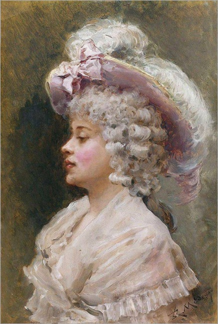 An elegant lady-R.Madrazo
