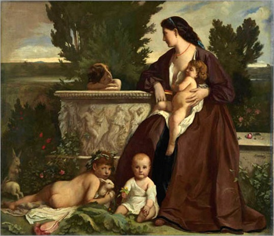 anselm_feuerbach-mother-with-children