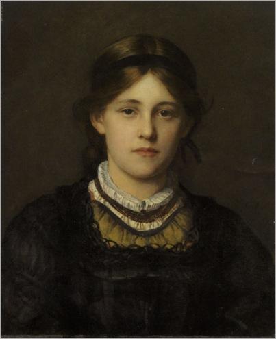 Beauty of the Tyrol -1880- Franz von Defregger (austrian painter)