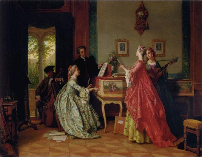 Carolus-Jean (1814-1897, belgium)-The-Recital