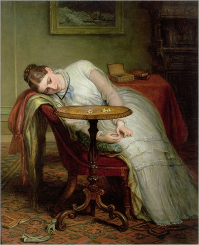 Charles West Cope (1811-1890)- Hope Deferred, and Hopes and Fears that Kindle Hope