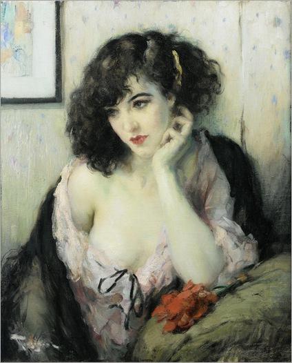 contemplation-Fernand-Toussaint (belgium, 1873-1955)