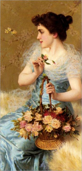 dance_of_the_butterflies-Italo Nunes-Vais (italian, 1860-1932)