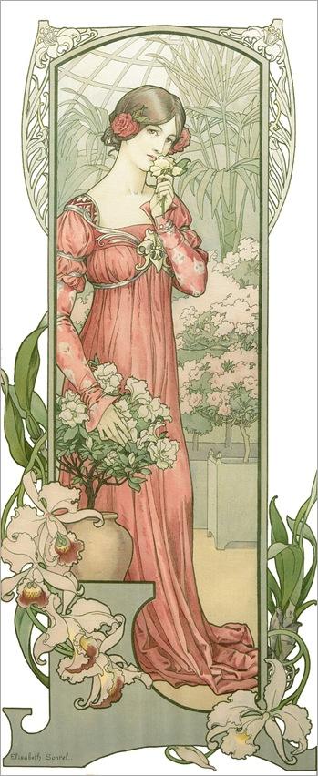 Elisabeth Sonrel (1874-1953) - Fleur des Serre
