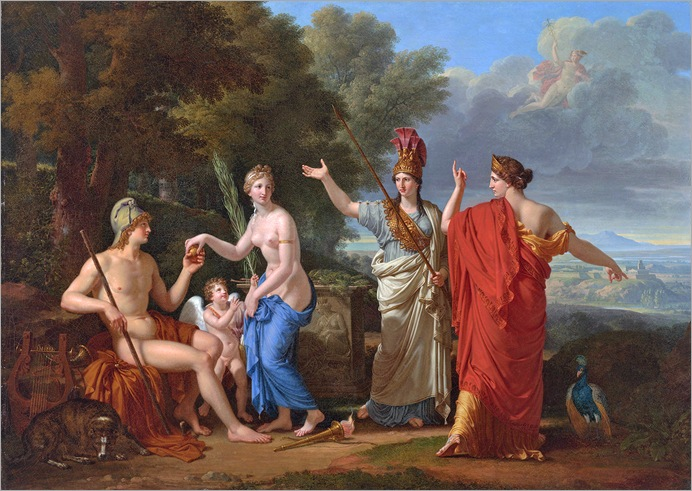 Francois-Xavier Fabre - The Judgement of Paris 1808