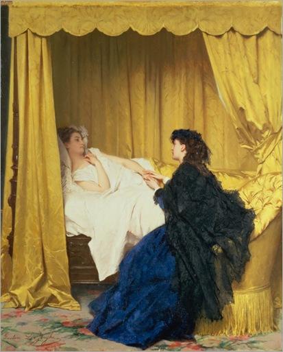 Gustave-L-de-Jonghe-the-convalescent
