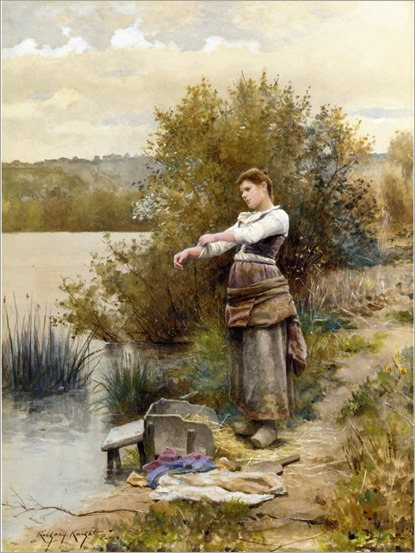 Knight_Daniel_Ridgway_The_Laundress