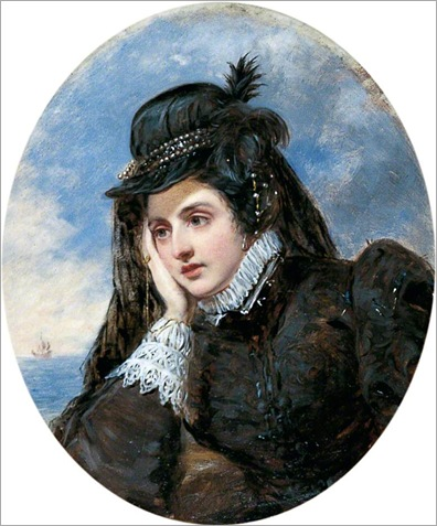 L'adieu de Marie Stuart-William Powell Frith (British, 1819–1909)