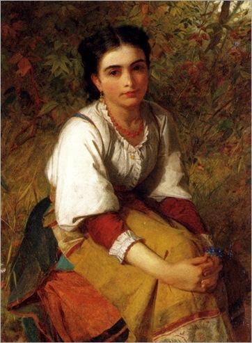 Lidderdale_Charles_Sillem (1831-1895)_Pensierosa
