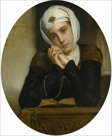 lost-in-trought-Henri-Guillaume Schlesinger (french, 1814-1893)