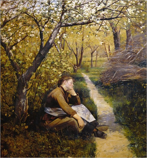 Marie Konstantinowna Bashkirtseff (1858-1884)_Printemps_Spring_or_April