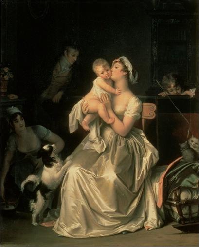 motherhood-marguerite-gerard (french,1761-1837)