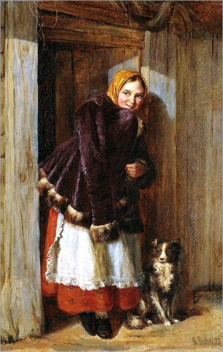 nikolai-rachkov-at-the-door-1871