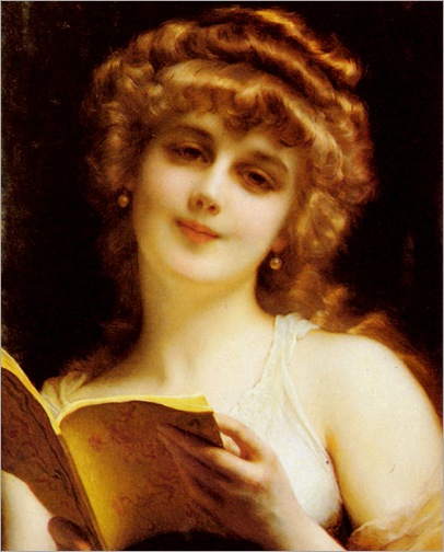 Piot-Adolphe-A-Blonde-Beauty-Holding-A-Book