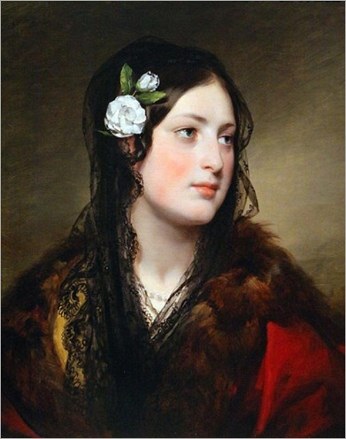 Portrait of Elise Kreuzberger-by-Friedrich-von-Amerling-1837