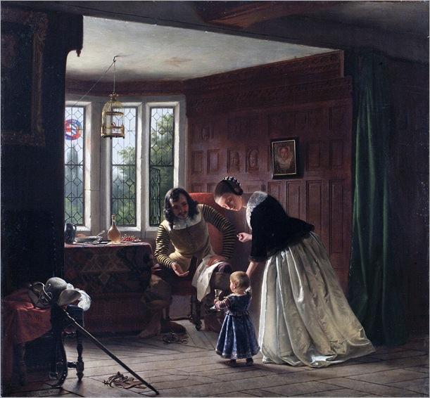 Richard Caton Woodville - The Cavalier's Return