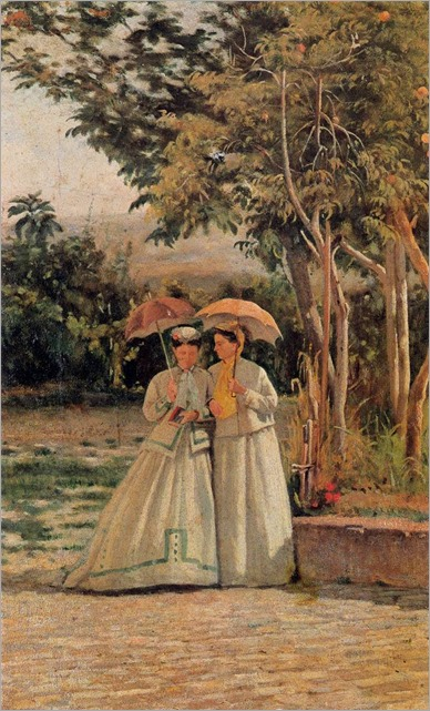 Silvestro_Lega_-_A_Walk_in_the_Garden