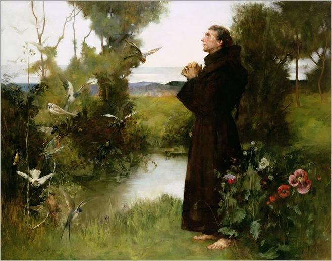 St. Francis - Albert Chevallier Tayler - 1898