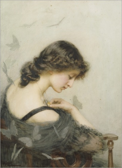 St. George Hare (1857-1933) - Black Butterflies