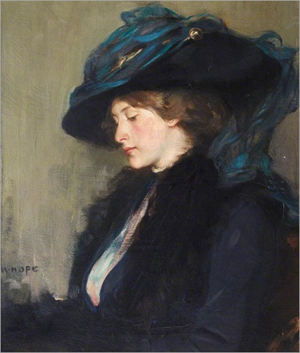 the blue veil-Robert Hope