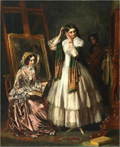 the-eve-of-the-wedding-1852-Jerry_Barrett