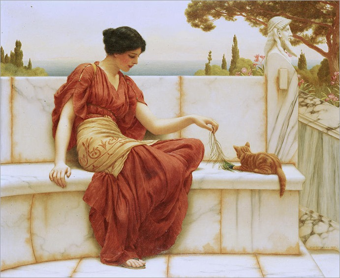 the favorite - John William Godward