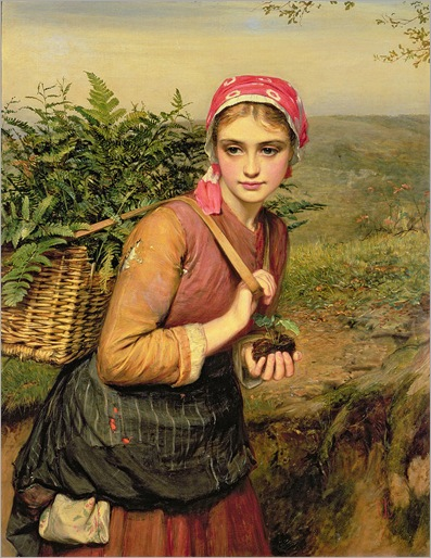the-fern-gatherer-charles-sillem-lidderdale