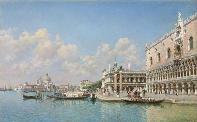 The Grand Canal, Venice - Federico del Campo