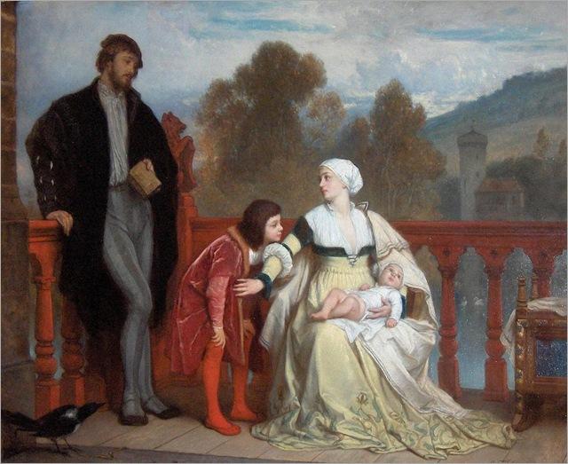 The Newborn - Edouard Hamman