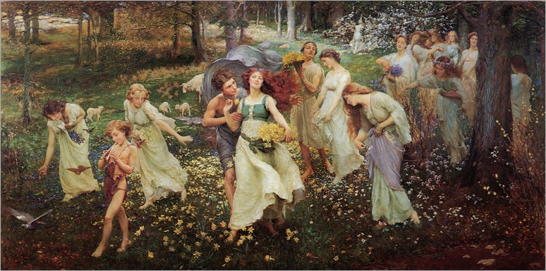 The Progress of Spring - Charles Daniel Ward-1905