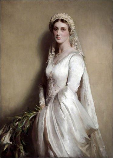Thomas Martine Ronaldson - the bride 1929