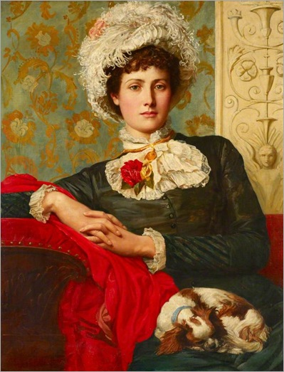 Unprofessional Beauty -1885- Val Prinsep (british painter)