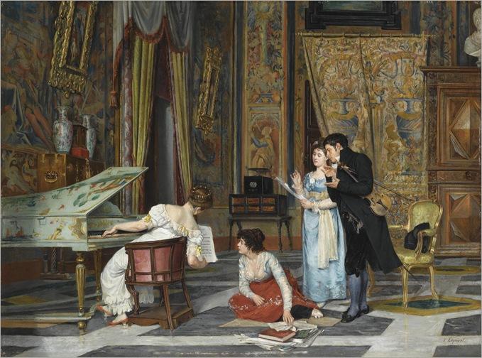 Vicente Esquivel, middle XIX century, A new composition