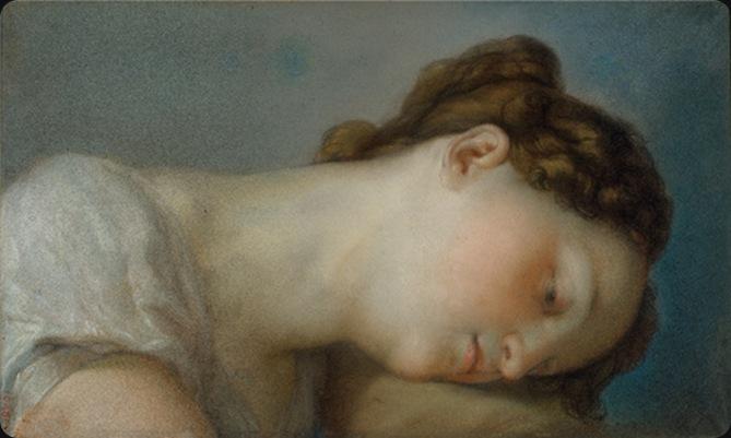 Vicente López y Portaña - Woman's Head (ca.1826)
