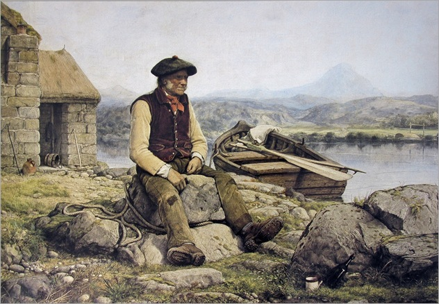 William Dyce - Highland Ferryman 1858