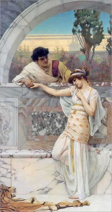 Yes_or_No-John William Godward