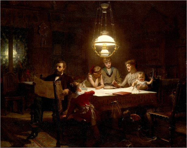A Happy Family - Knut Ekwall